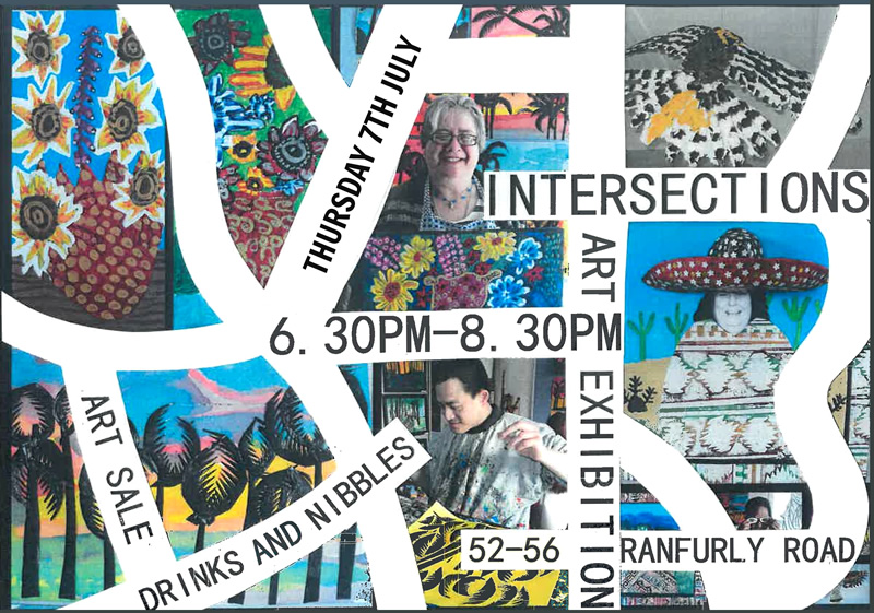 Invitation to Intersections Art Expo